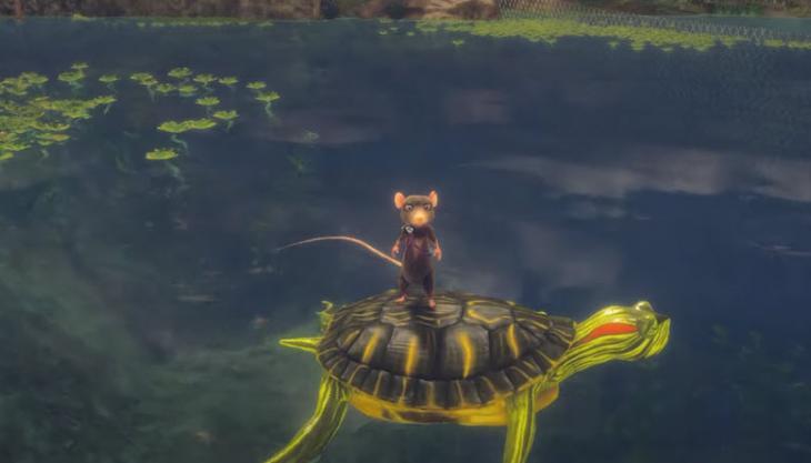 Показаны новые кадры геймплея игры A Rat's Quest – The Way Back Home